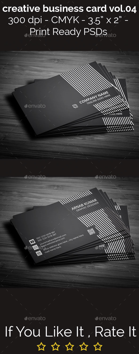 Creative Business Card Vol.04 - Creative Business Cards