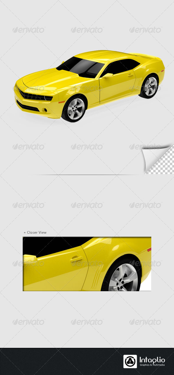 Car 3D Render - 3D Renders Graphics