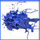 HD Abstract Water Paint Liquid Splash 29 - 3DOcean Item for Sale