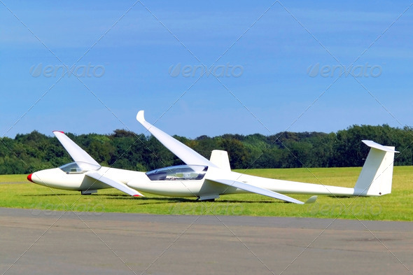 Two gliders - Stock Photo - Images