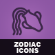 Hand Drawn Zodiac Icons - GraphicRiver Item for Sale