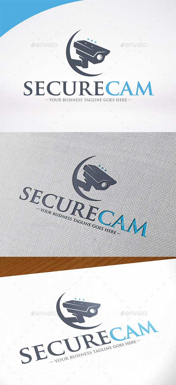 Video Surveillance Logo - Objects Logo Templates