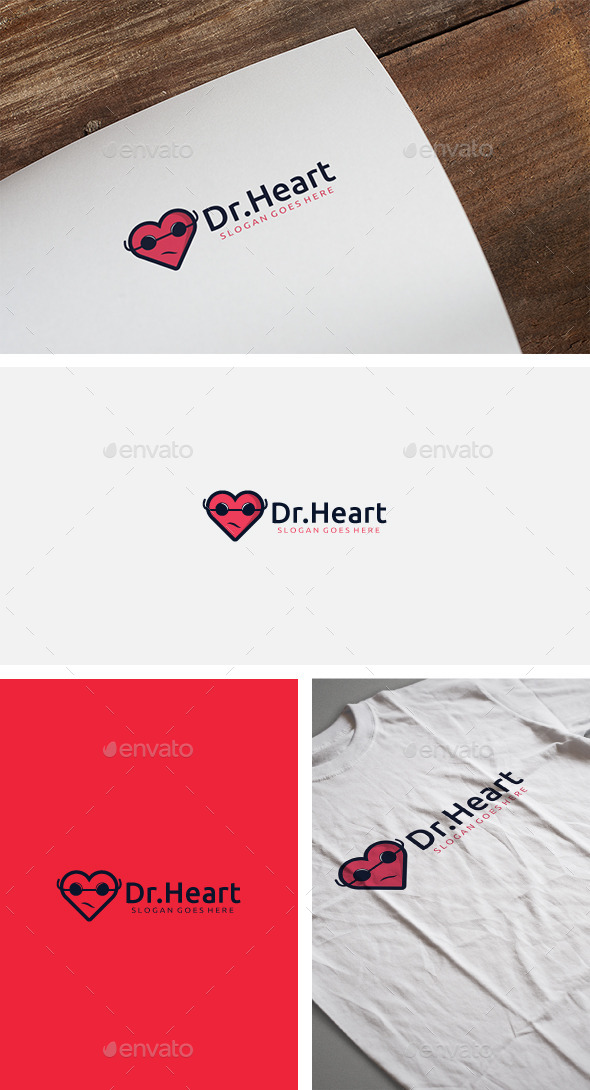 Dr Heart Logo - Logo Templates