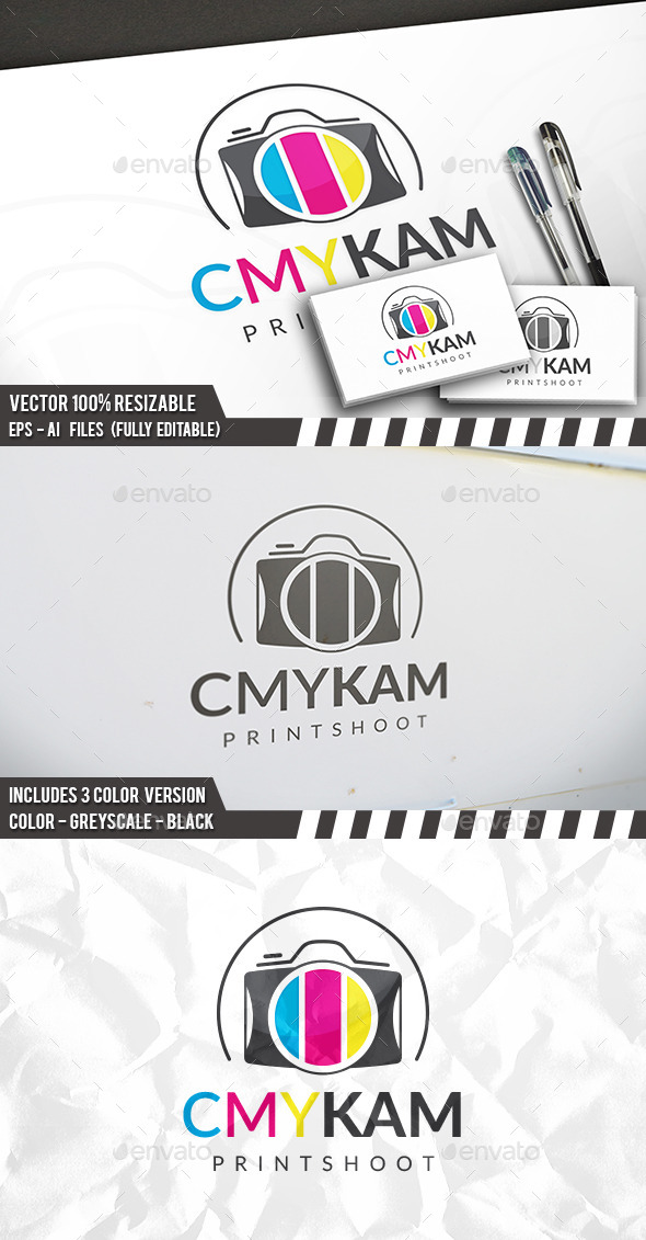Photo Print Logo - Objects Logo Templates