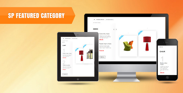 SP Featured Category Prestashop Module