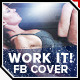 Work It | Health & Fitness Facebook Cover - GraphicRiver Item for Sale