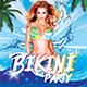 Bikini Party Flyer - GraphicRiver Item for Sale