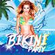 Bikini Party Flyer - GraphicRiver Item for Sale