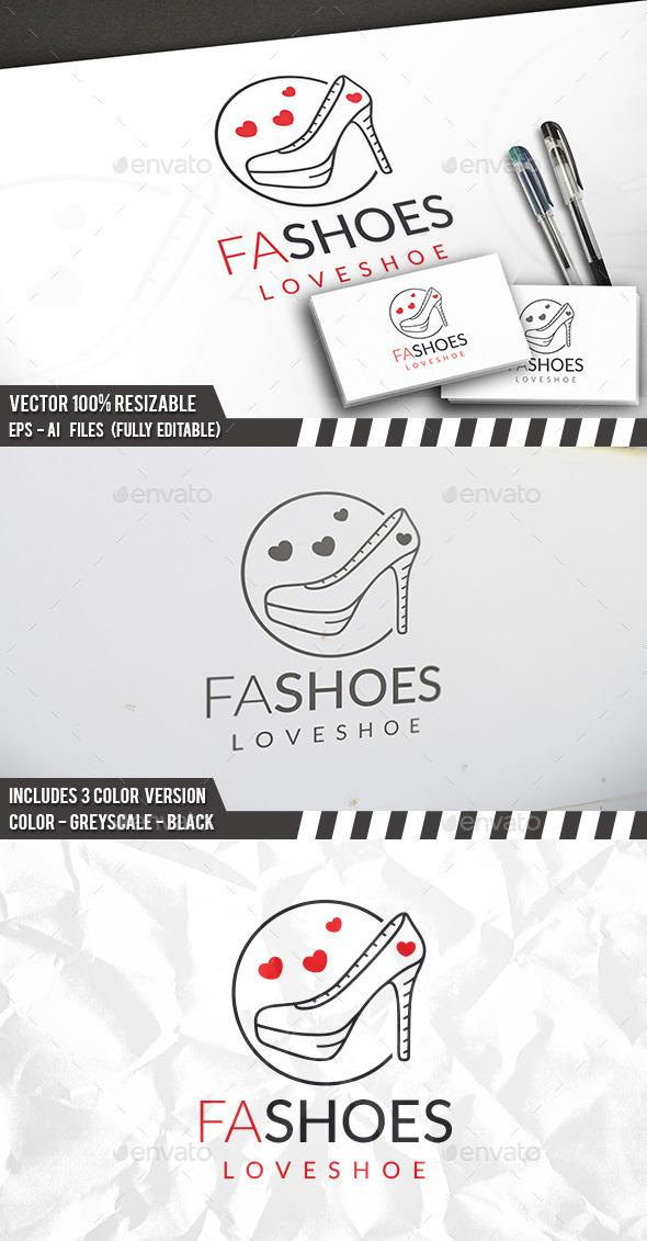 Shoes Shop Logo