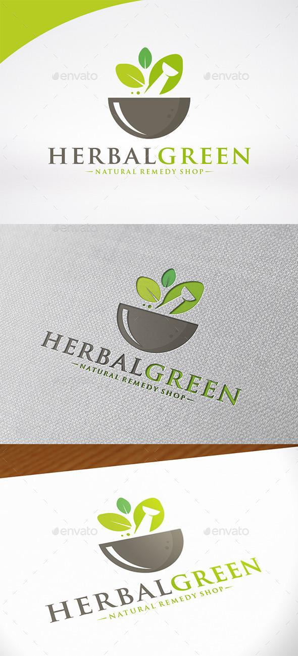 Herbal Pharma Logo Template - Nature Logo Templates