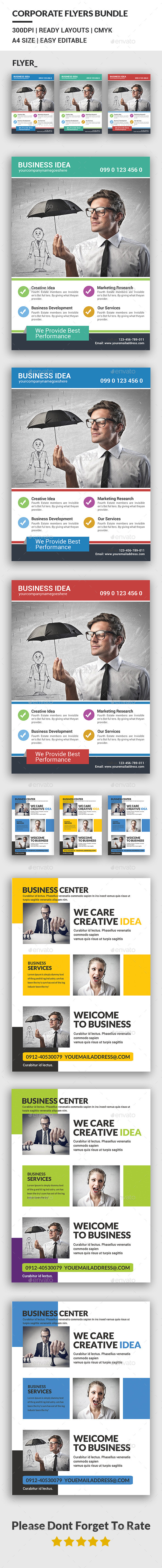 Business Flyers Bundle - Corporate Flyers