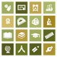 20 Education Icons - GraphicRiver Item for Sale