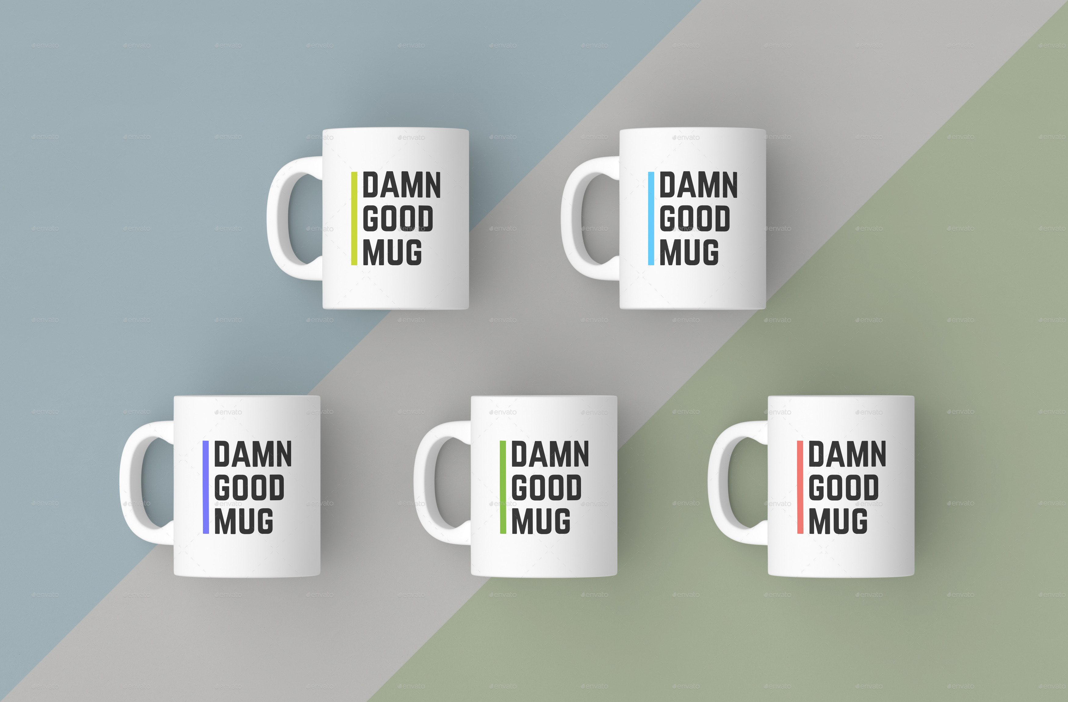 Mugs Mockups Pack by bulbfish | GraphicRiver