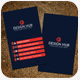 Vertical Business Card Template - GraphicRiver Item for Sale