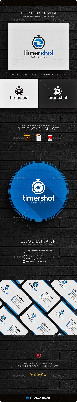 Timer Shot Logo - Symbols Logo Templates