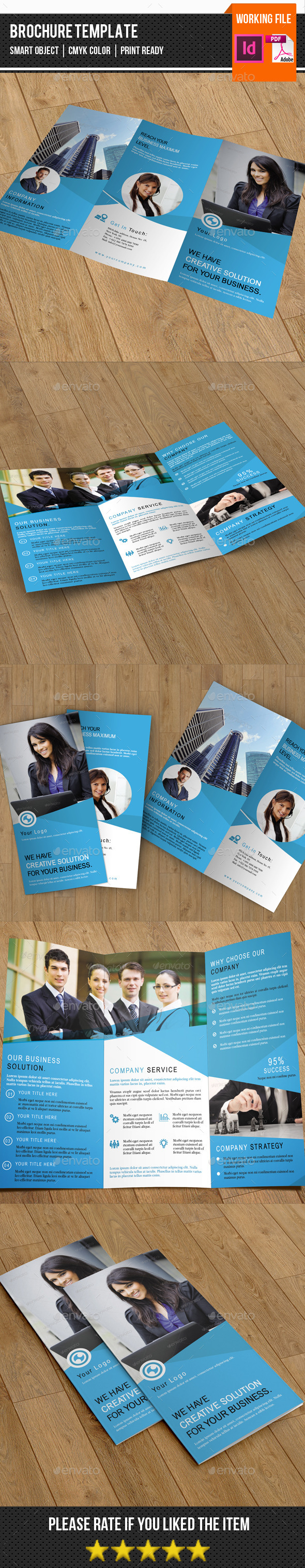 Corporate Trifold Brochure-V243 - Corporate Brochures