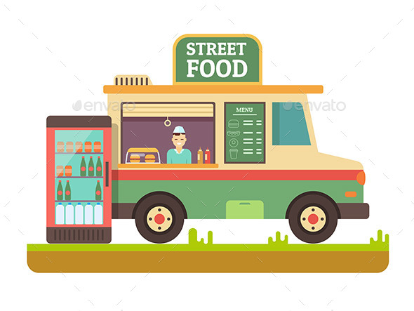 Store Fast Food Van - Retail Commercial / Shopping