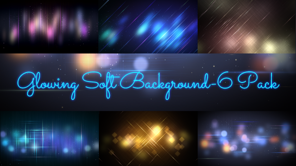 Glowing Soft Background-6 Pack