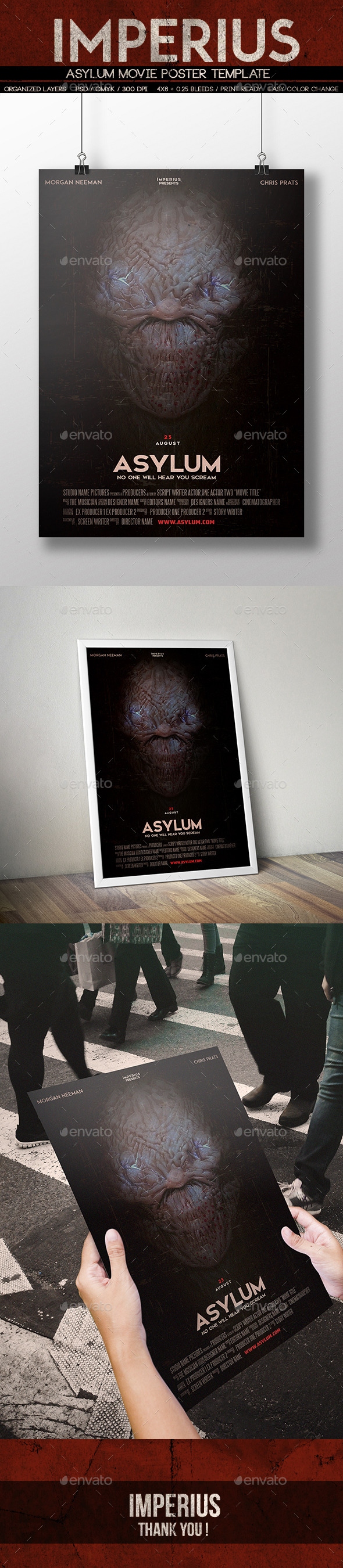 Asylum Movie Poster - Miscellaneous Events