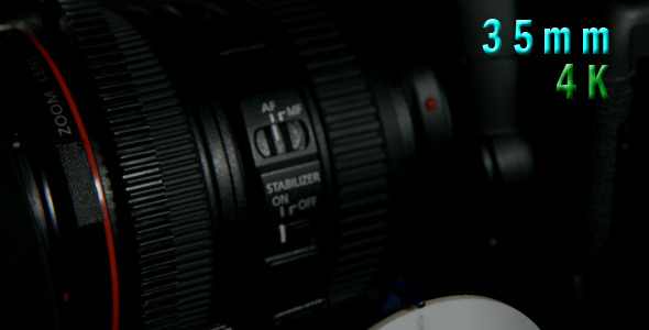 Stabilizer Button On Camera Lens 06