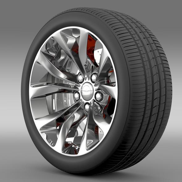 Chrysler 300 Limited 2015 wheel - 3DOcean Item for Sale