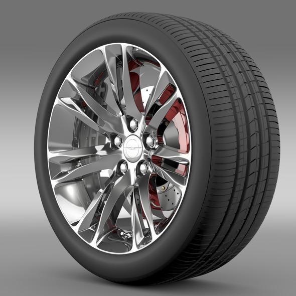Chrysler 300C 2015 wheel - 3DOcean Item for Sale