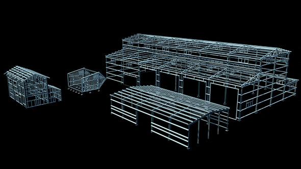 Steel Construction - 3DOcean Item for Sale