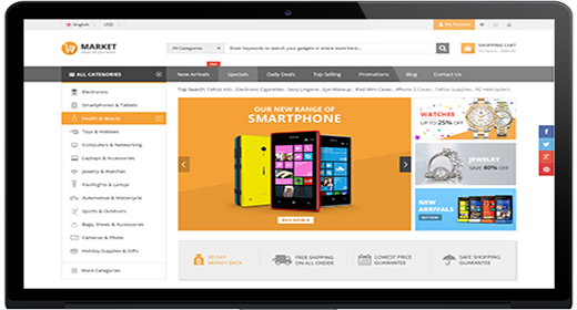 Magento for Market sites