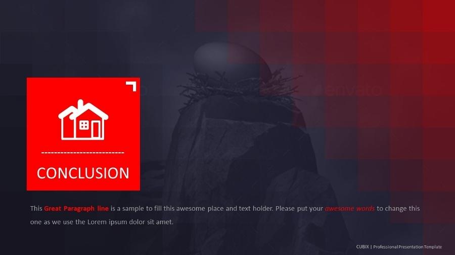 cubix - professional presentation templateinspirasign, Presentation templates