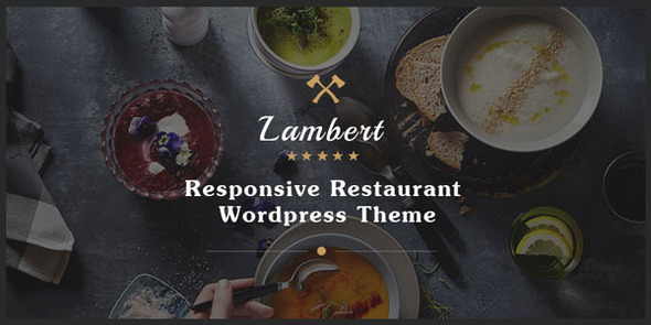 Lambert – Restaurant / Cafe / Pub WordPress Theme