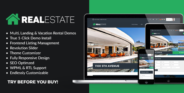 WP Pro Real Estate 7 - Responsive WordPress Theme