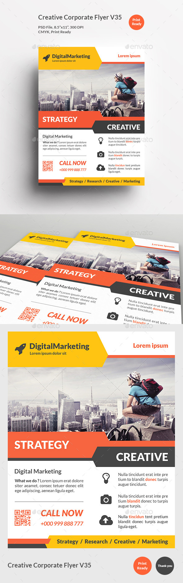 Creative Corporate Flyer V35 - Corporate Flyers