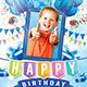Kids Birthday Party Invitation ( Boy & Girl ) - GraphicRiver Item for Sale