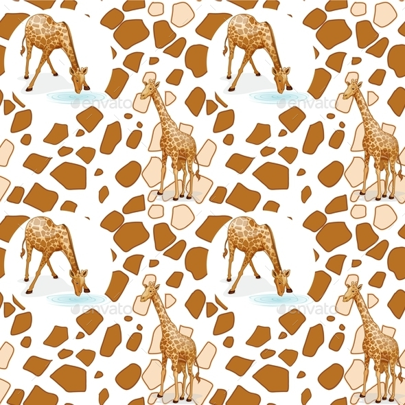 Giraffe - Animals Characters