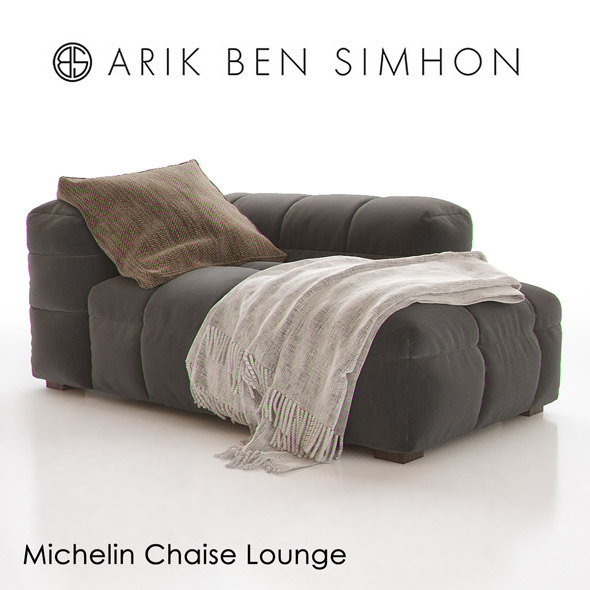 Michelin Chaise Lounge by Arik Ben Simhon - 3DOcean Item for Sale