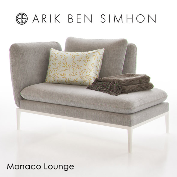 Monaco Chaise Lounge I by Arik Ben Simhon