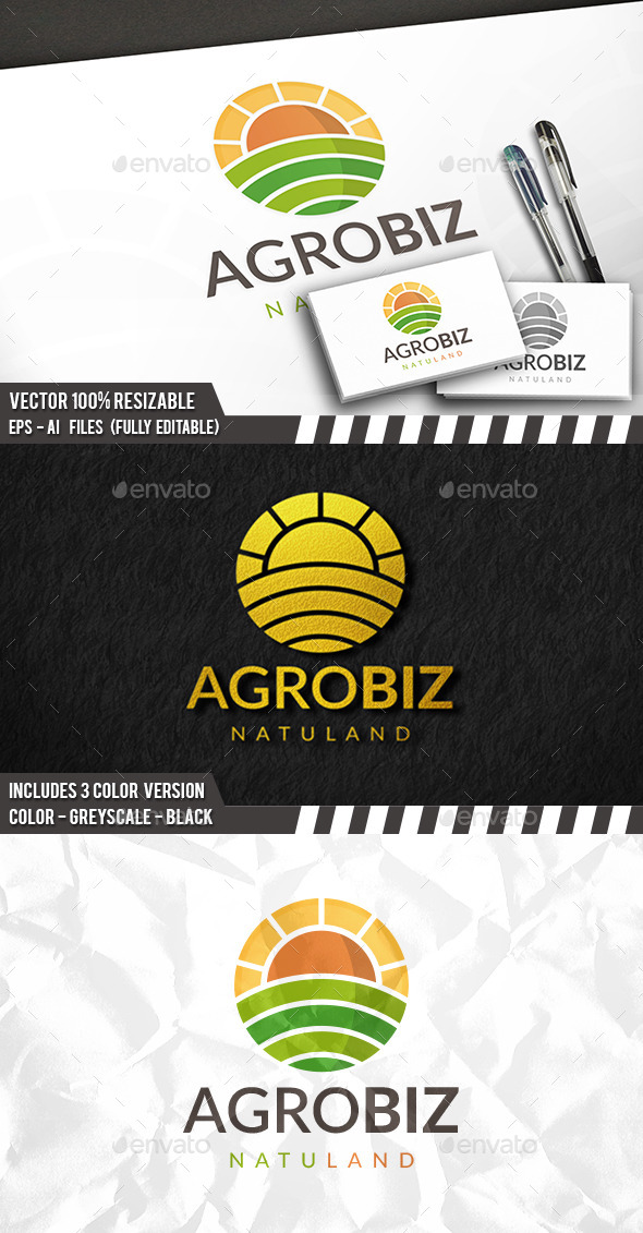 Farming Logo - Nature Logo Templates