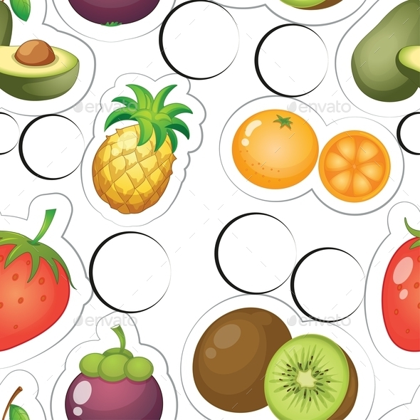 Fruits - Food Objects