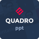 Quadro - Multipurpose Powerpoint Template - GraphicRiver Item for Sale