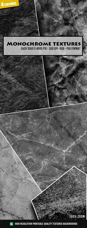 Monochrome Rough Texture 47 - Industrial / Grunge Textures