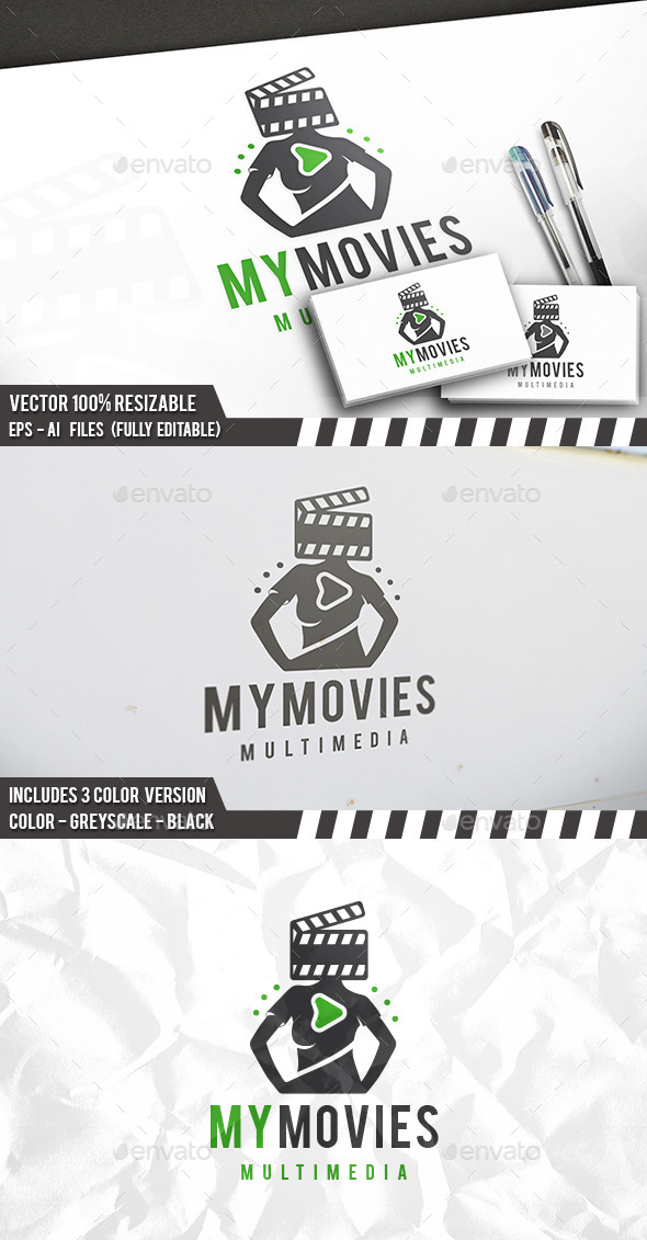 Film People Logo - Humans Logo Templates