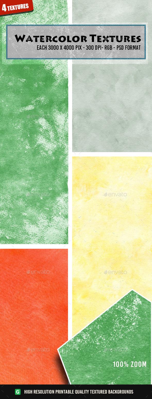 Watercolor Textures 52 - Art Textures