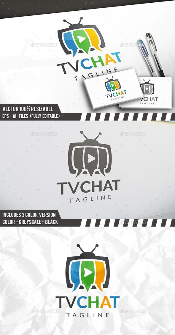 Tv Chat Logo