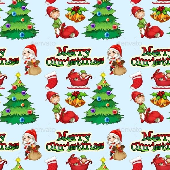 Seamless Christmas - Christmas Seasons/Holidays