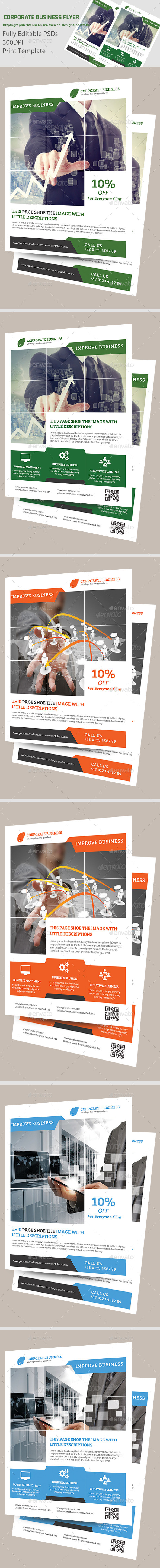 Creative Corporate Business Flyer - Flyers Print Templates
