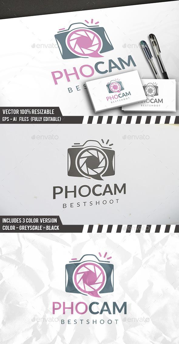 Photo Talk Logo - Symbols Logo Templates