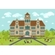 University Or College Building - GraphicRiver Item for Sale