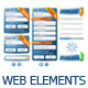 Modern Web Elements - GraphicRiver Item for Sale