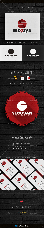 Secosan - Letter S Logo - Letters Logo Templates