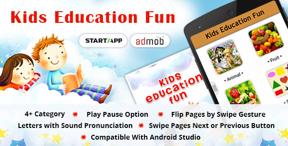 Kids Education Fun - CodeCanyon Item for Sale